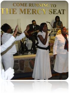 Mercy Seat Graphic